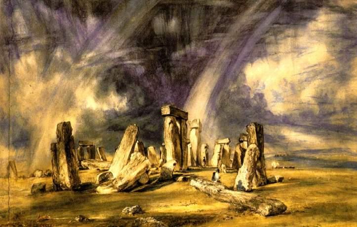 12.John Constable_Stonehenge