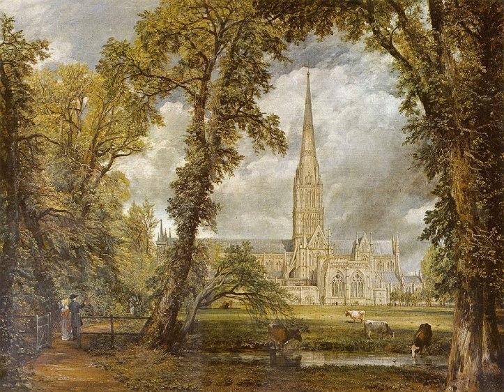13.John Constable_A Catedral de Salisbury
