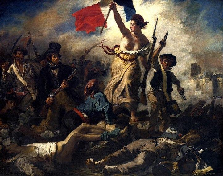 18_Delacroix_A Liberdade Guiando o Povo