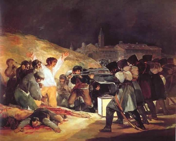 3.Goya_Os Fuzilamentos de 3 de maio de 1808