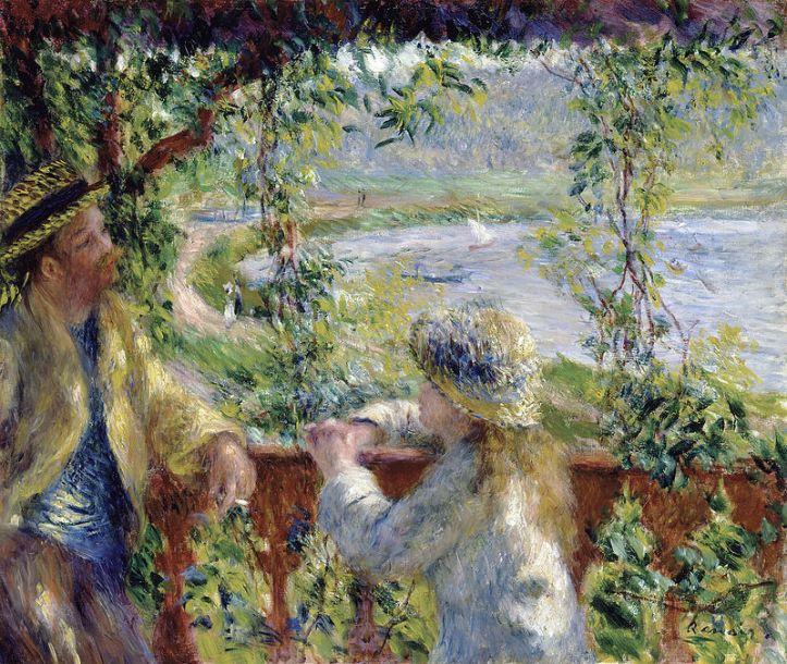 Pierre Auguste Renoir_By_the_Water