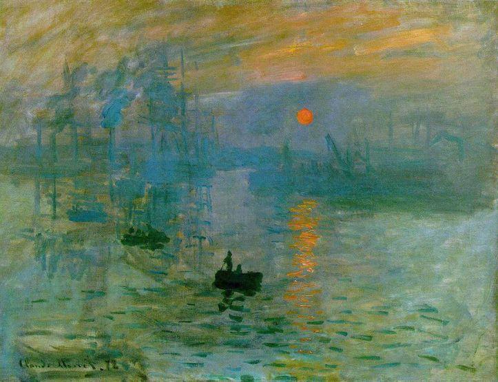 Claude Monet_Impressão do nascer do sol