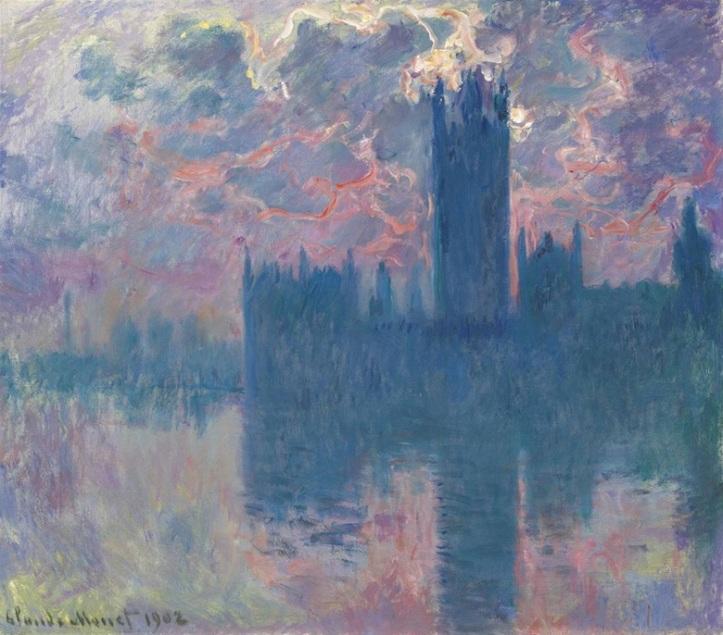 Claude Monet_O Parlamento