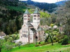 Igreja Românica de Murbach na Alsácia
