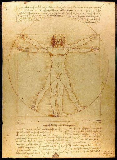 Homem Vitruviano_Leonardo da Vinci