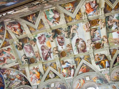 Teto da Capela Cistina_Roma_Michelangelo