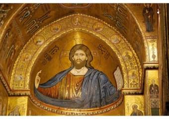 Mosaicos na Catedral de Monreale_Sicília