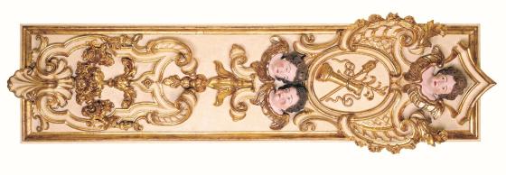 11 - Talha de madeira da Igreja de São Pedro dos Clérigos - já demolida