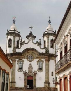 Igreja de Nossa Senhora do Carmo, em São João Del Rei (MG)