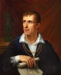 Retrato feito pelo artista Rudolph Suhrlandt.