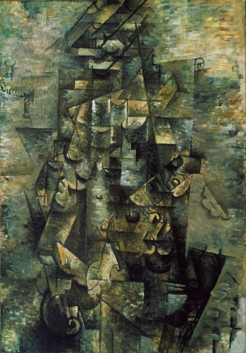 Homem com violão, Georges Braque