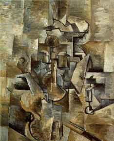 Georges Braque - Violino e Castiçal