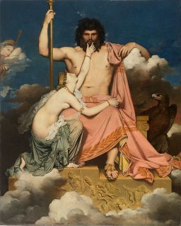 Júpiter e Tétis