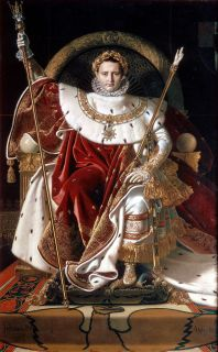 Napoleão entronizado