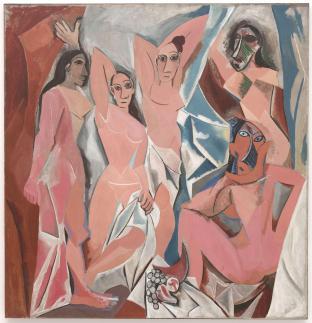 Pablo Picasso - Les_Demoiselles_dAvignon