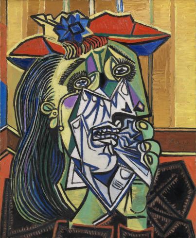 Mulher chorando, de Pablo Picasso.