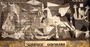 Pablo Picasso - Mural em Guernica