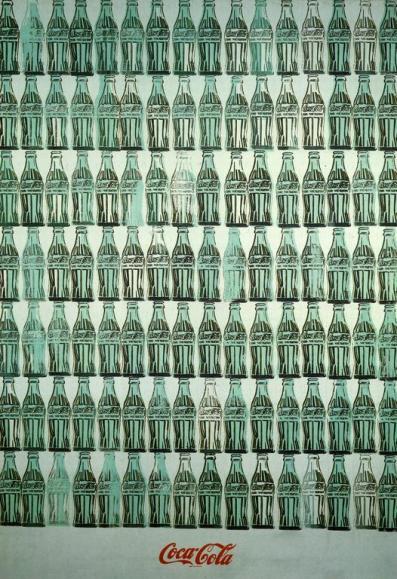 Garrafas de coca-cola verdes, de Andy Warhol.