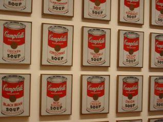Latas de sopa Campbell, de Andy Warhol