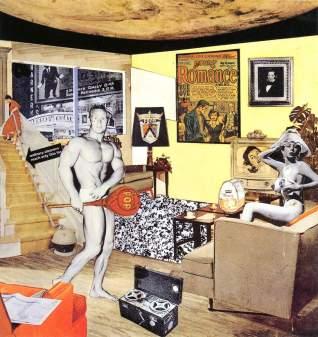 O que torna os lares de hoje tão diferentes, tão atraentes? - de Richard Hamilton.