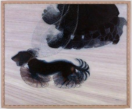 Dinamismo de um cão na coleira, de Giacomo Balla.